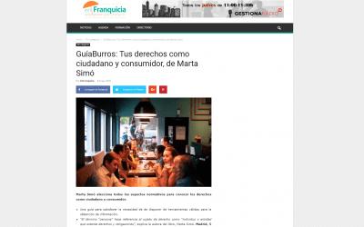 EnFranquicia se hace eco del GuíaBurros: Tus derechos como ciudadano y consumidor, de Marta Simó